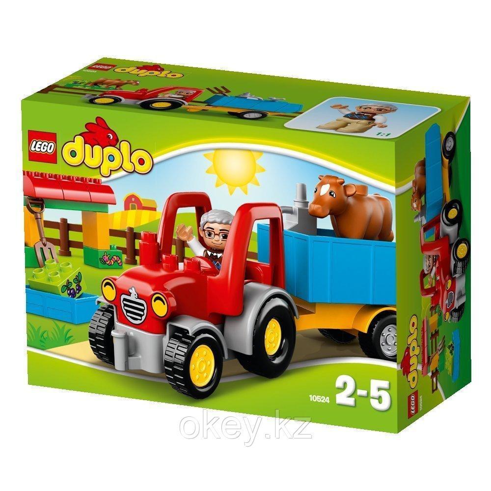 LEGO Duplo: Сельскохозяйственный трактор 10524