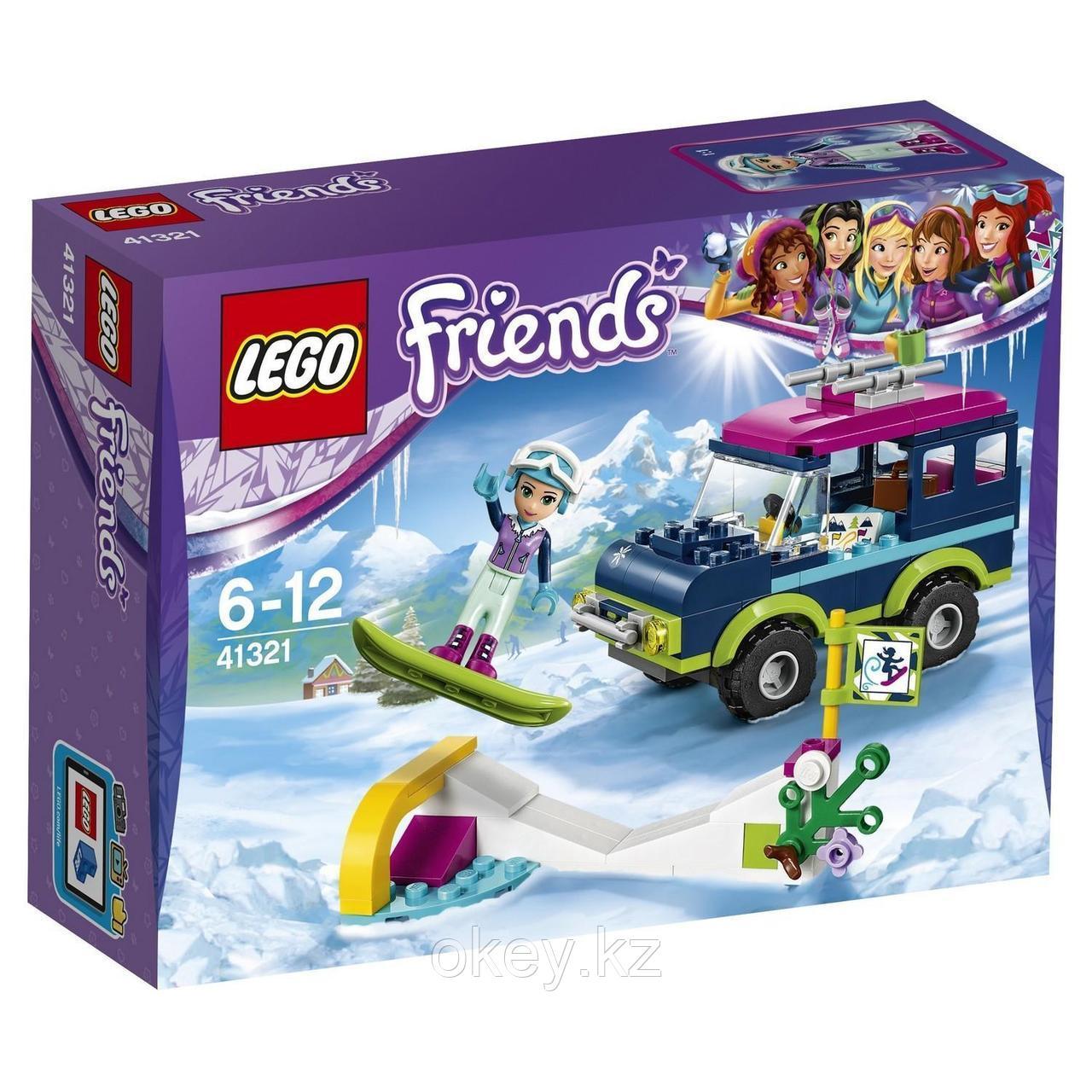 LEGO Friends: Горнолыжный курорт: внедорожник 41321