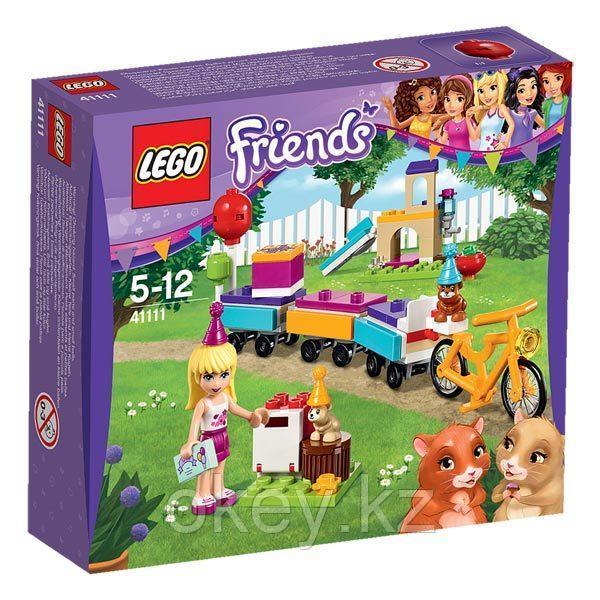 LEGO Friends: День рождения: Велосипед 41111