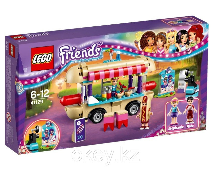 LEGO Friends: Парк развлечений: Фургон с хот-догами 41129