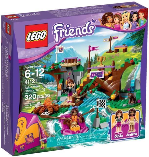 LEGO Friends: Спортивный лагерь: Сплав по реке 41121