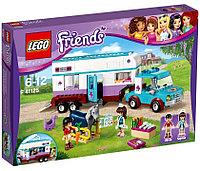 LEGO Friends: Ветеринарная машина для лошадок 41125