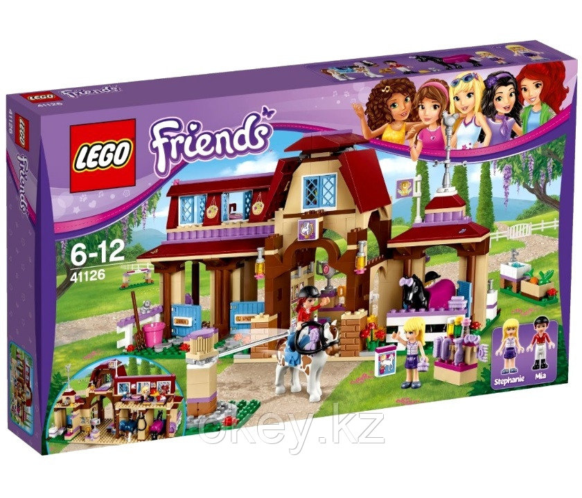 LEGO Friends: Клуб верховой езды 41126