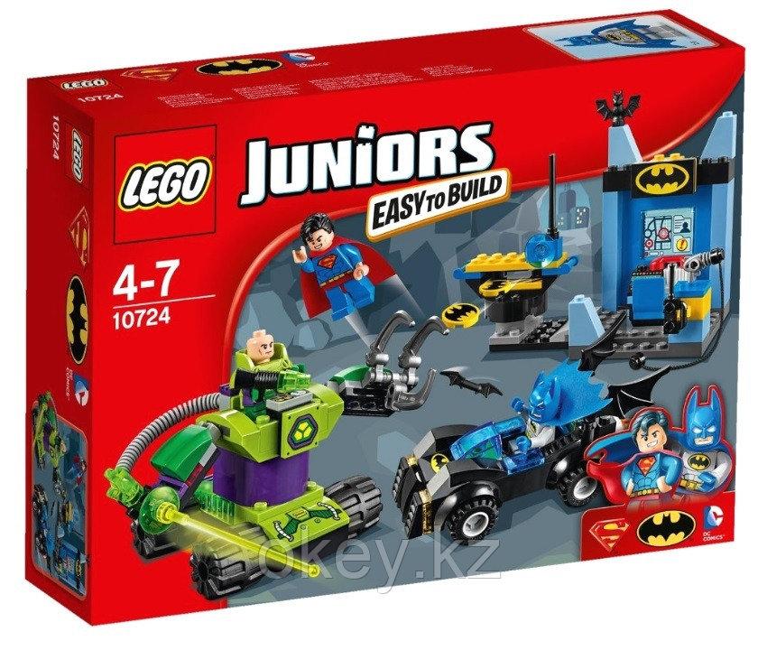 LEGO Juniors: Бэтмен и Супермен против Лекса Лютора 10724