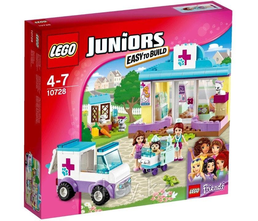 LEGO Juniors: Ветеринарная клиника Мии 10728