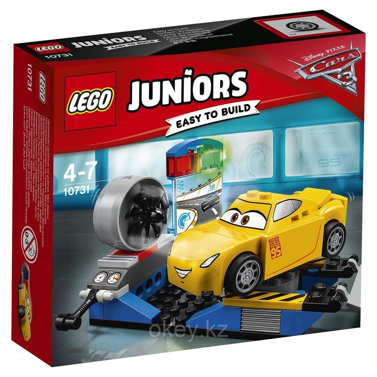 LEGO Juniors: Гоночный тренажёр Крус Рамирес 10731