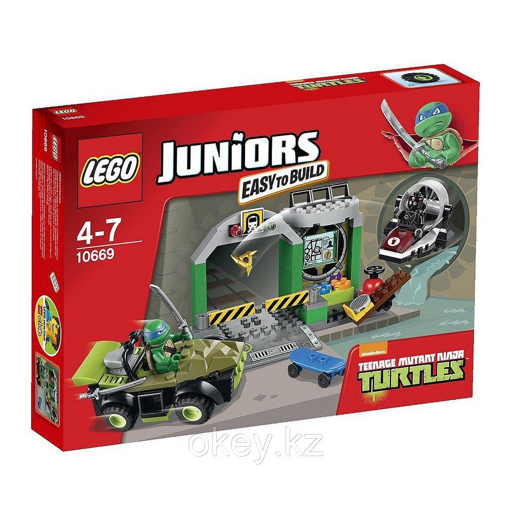 LEGO Juniors: Логово черепашек 10669