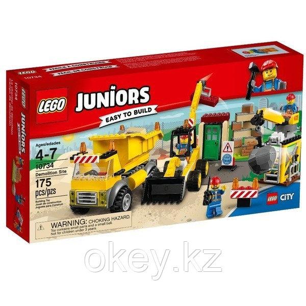 LEGO Juniors: Стройплощадка 10734