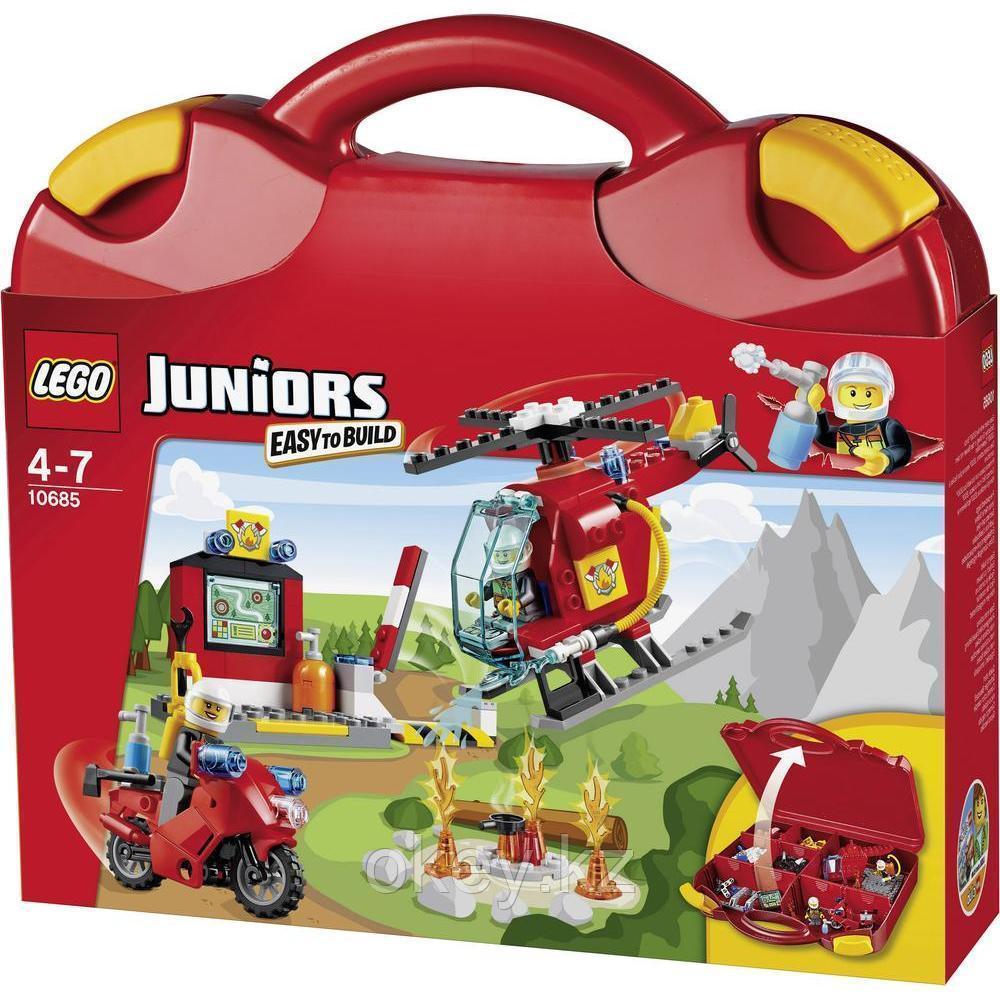 LEGO Juniors: Чемоданчик Пожар 10685
