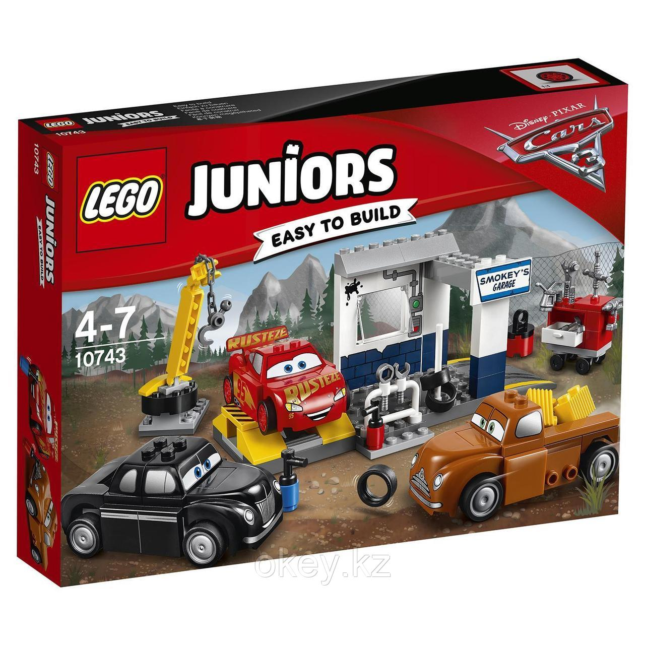 LEGO Juniors: Гараж Смоуки 10743