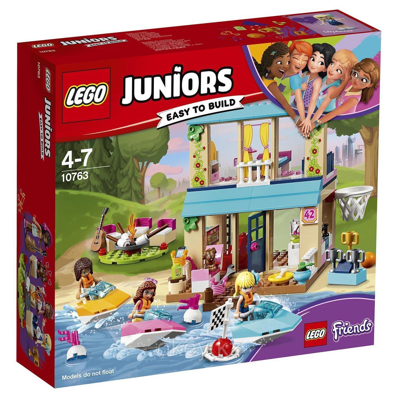 LEGO Juniors: Домик Стефани у Озера 10763