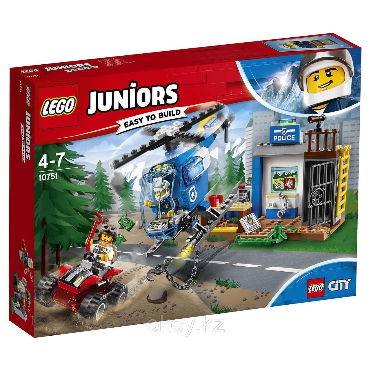 LEGO Juniors: Погоня горной полиции 10751