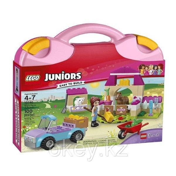 LEGO Juniors: Чемоданчик Ферма Мии 10746