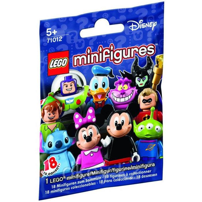 LEGO Minifigures: Минифигурки LEGO из серии Disney 71012
