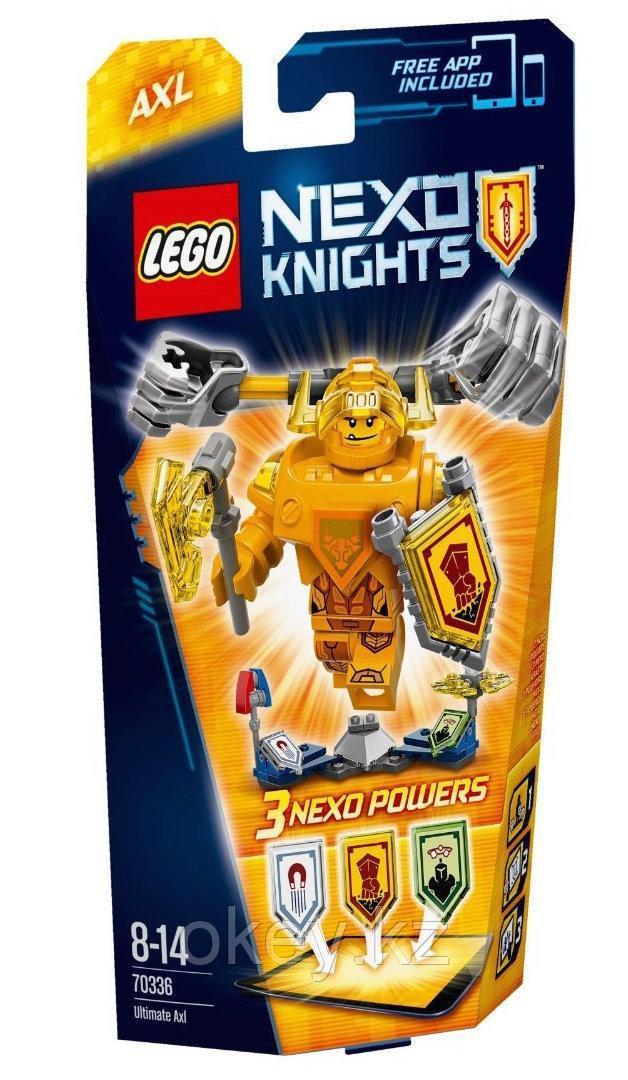LEGO Nexo Knights: Аксель — Абсолютная сила 70336
