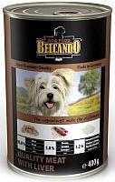Belcando Best Quality meat with liver с мясом и ливером, влажный корм для собак