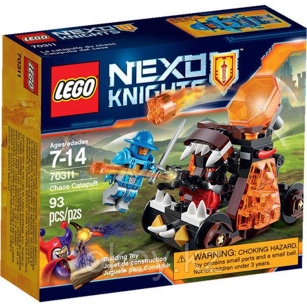 LEGO Nexo Knights: Безумная катапульта 70311