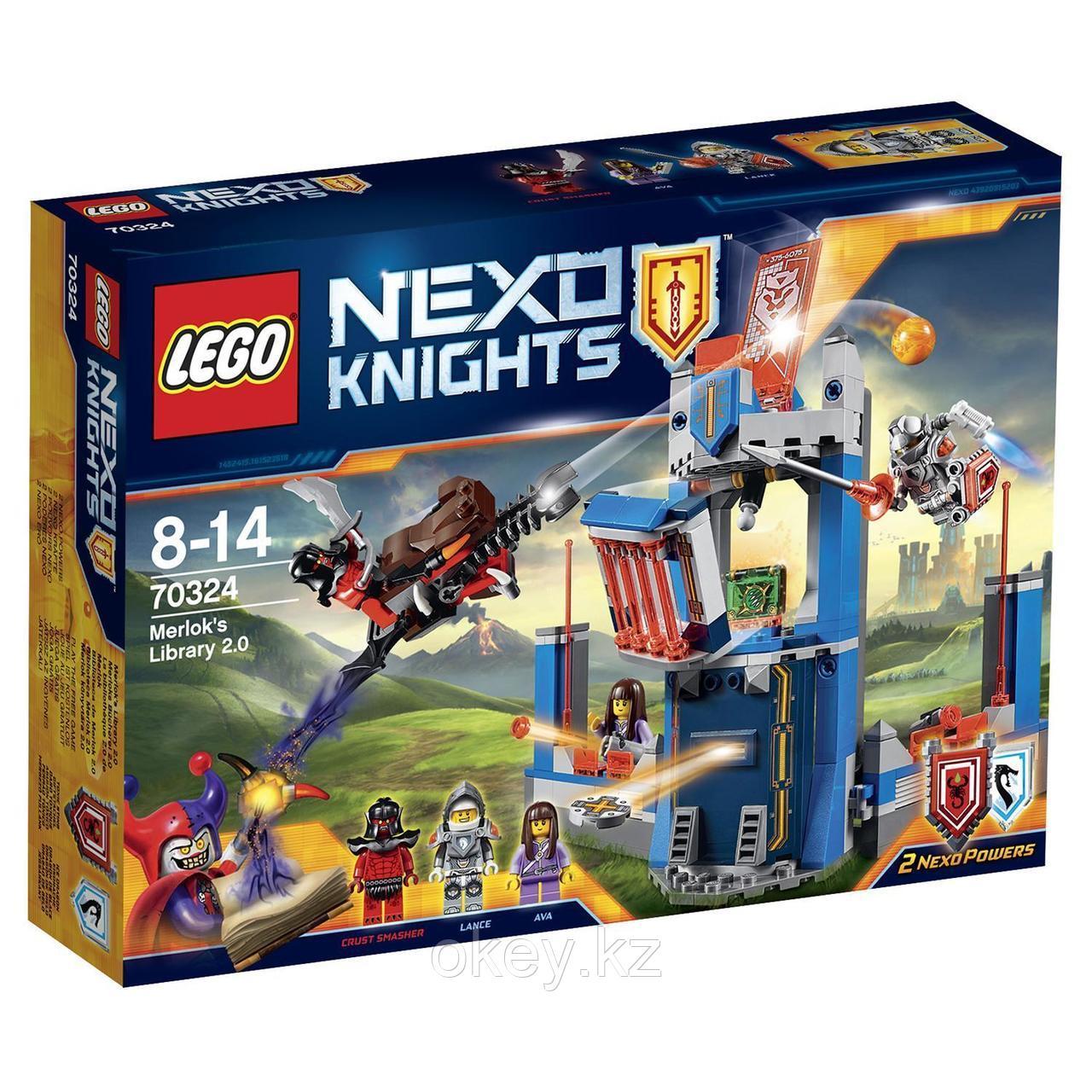 LEGO Nexo Knights: Библиотека Мерлока 2.0 70324