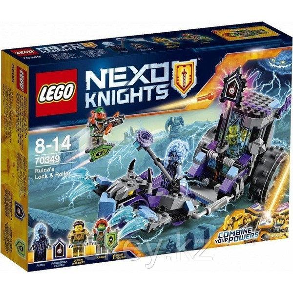 LEGO Nexo Knights: Мобильная тюрьма Руины 70349