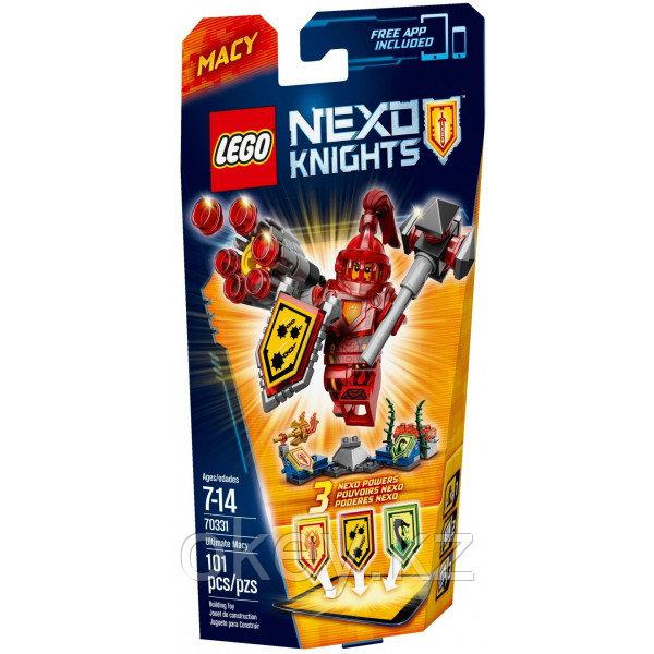 LEGO Nexo Knights: Мэйси – Абсолютная сила 70331