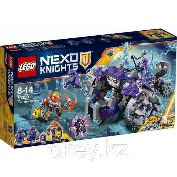 LEGO Nexo Knights: Три брата 70350