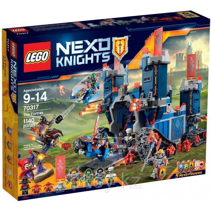 LEGO Nexo Knights: Фортрекс — мобильная крепость 70317