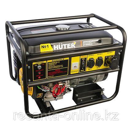 Портативный бензогенератор HUTER DY8000LX, фото 2