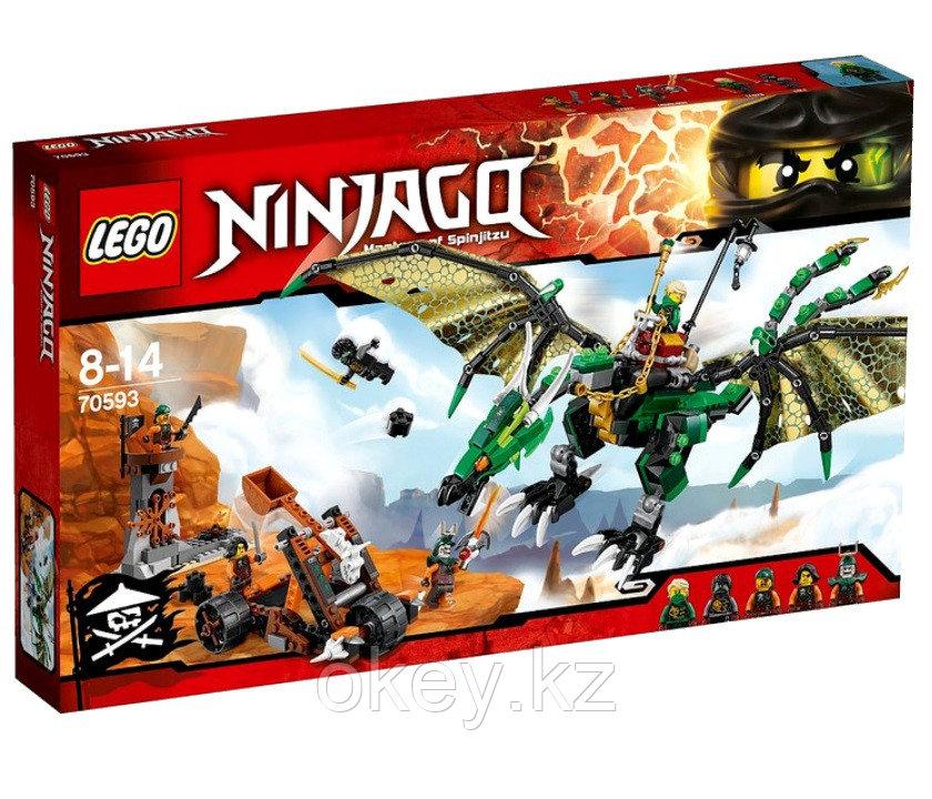 LEGO Ninjago: Зелёный Дракон 70593