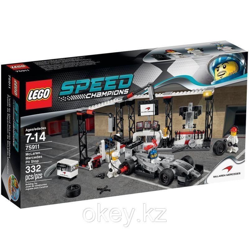 LEGO Speed Champions: Пункт техобслуживания McLaren Mercedes 75911