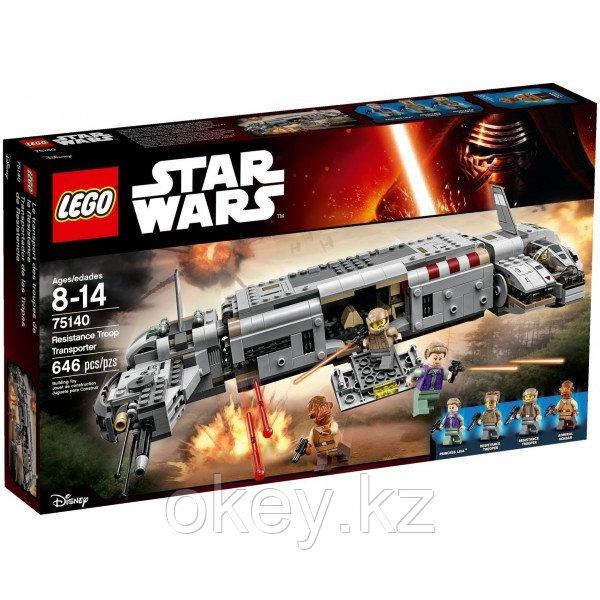 LEGO Star Wars: Военный транспорт Сопротивления 75140