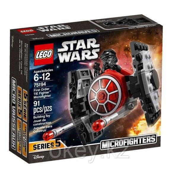 LEGO Star Wars: Истребитель СИД Первого Ордена (микрофайтер) 75194