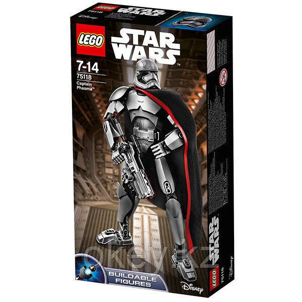 LEGO Star Wars: Капитан Фазма 75118