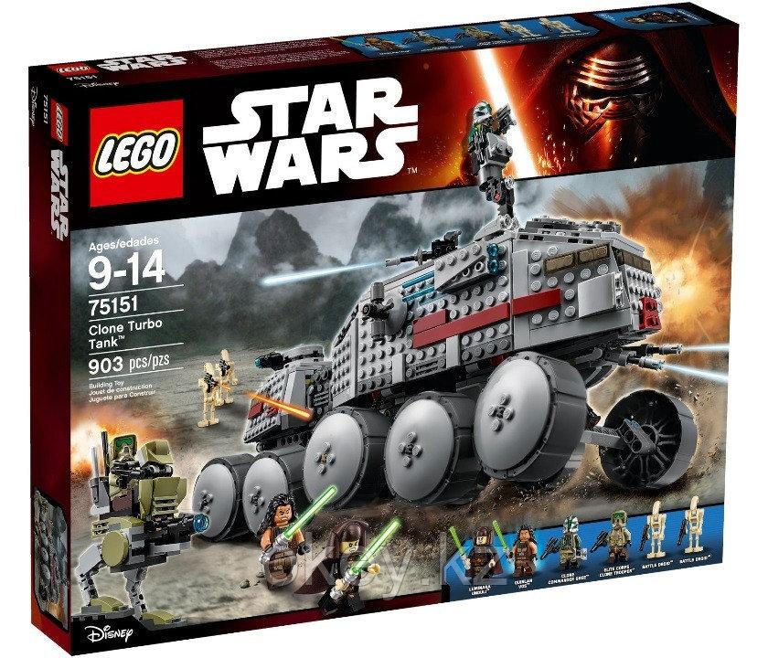 LEGO Star Wars: Турботанк клонов 75151