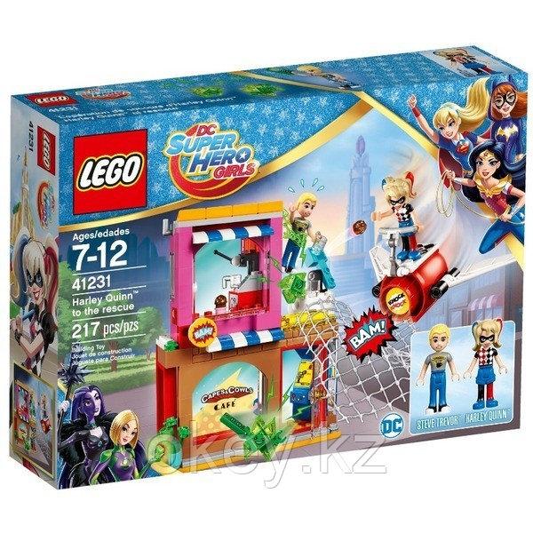 LEGO DC Super Hero Girls: Харли Квинн спешит на помощь 41231