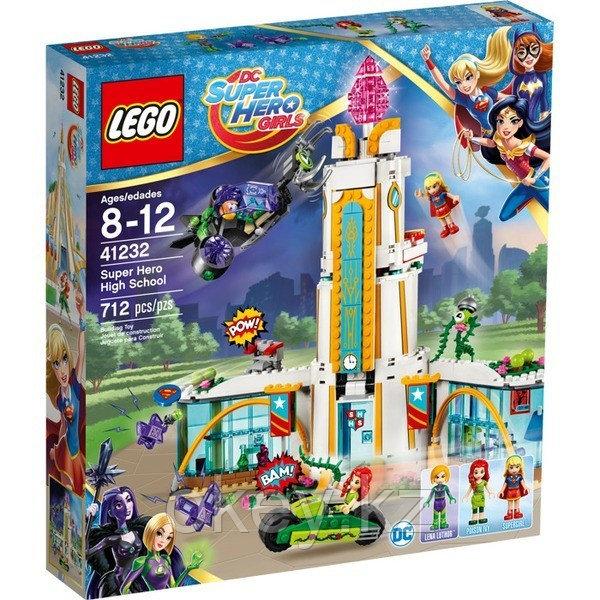 LEGO DC Super Hero Girls: Школа супергероев 41232