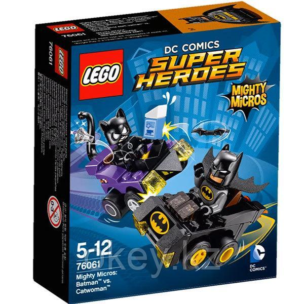 LEGO Super Heroes: Бэтмен против Женщины-кошки 76061