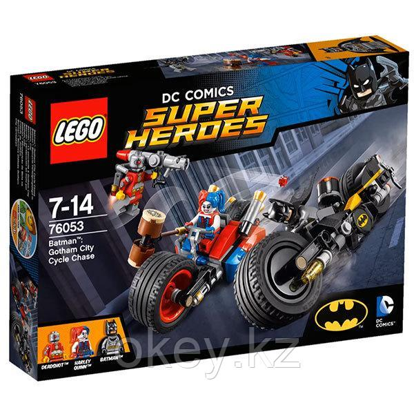 LEGO Super Heroes: Бэтмен: погоня на мотоциклах по Готэм-сити 76053