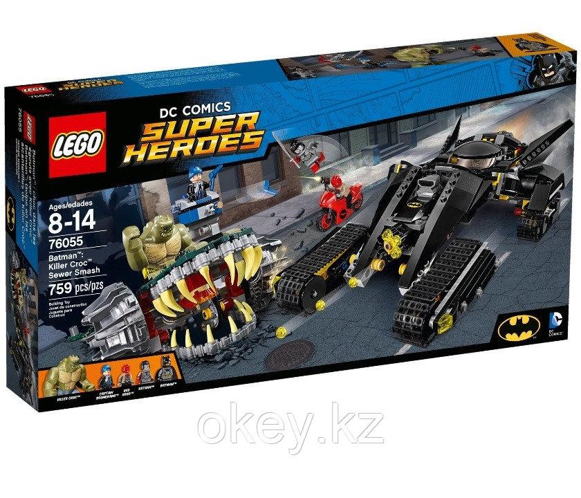 LEGO Super Heroes: Бэтмен: Разгром в канализации убийцы Крока 76055