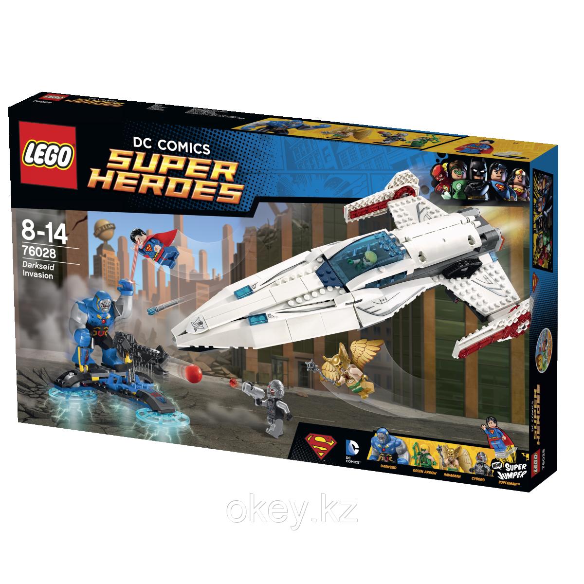 LEGO Super Heroes: Вторжение Дарксайда 76028