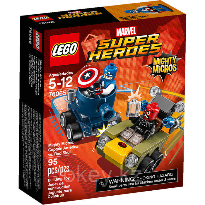 LEGO Super Heroes: Капитан Америка против Красного Черепа 76065