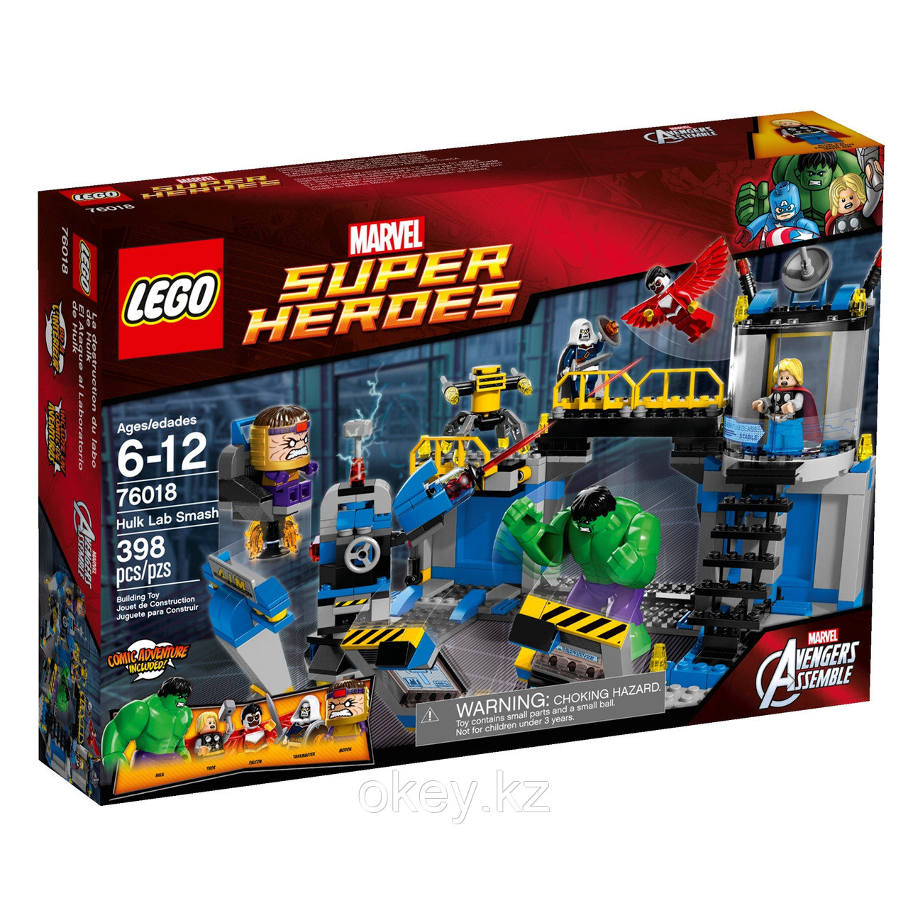 LEGO Super Heroes: Лаборатория Халка 76018