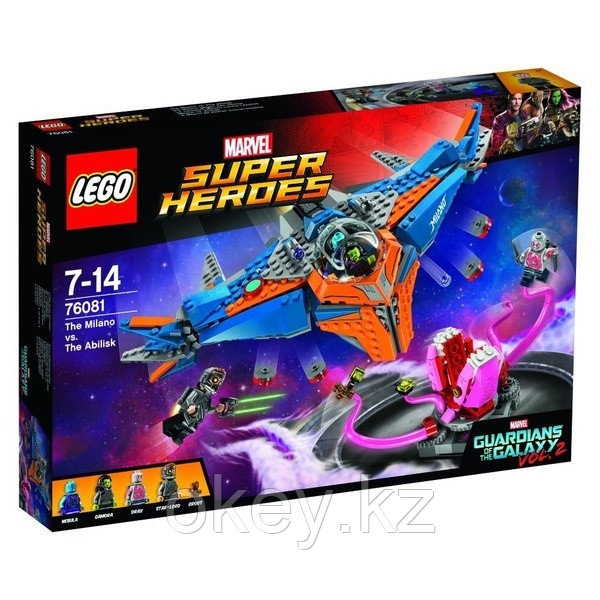 LEGO Super Heroes: Милано против Абелиска 76081 - фото 1