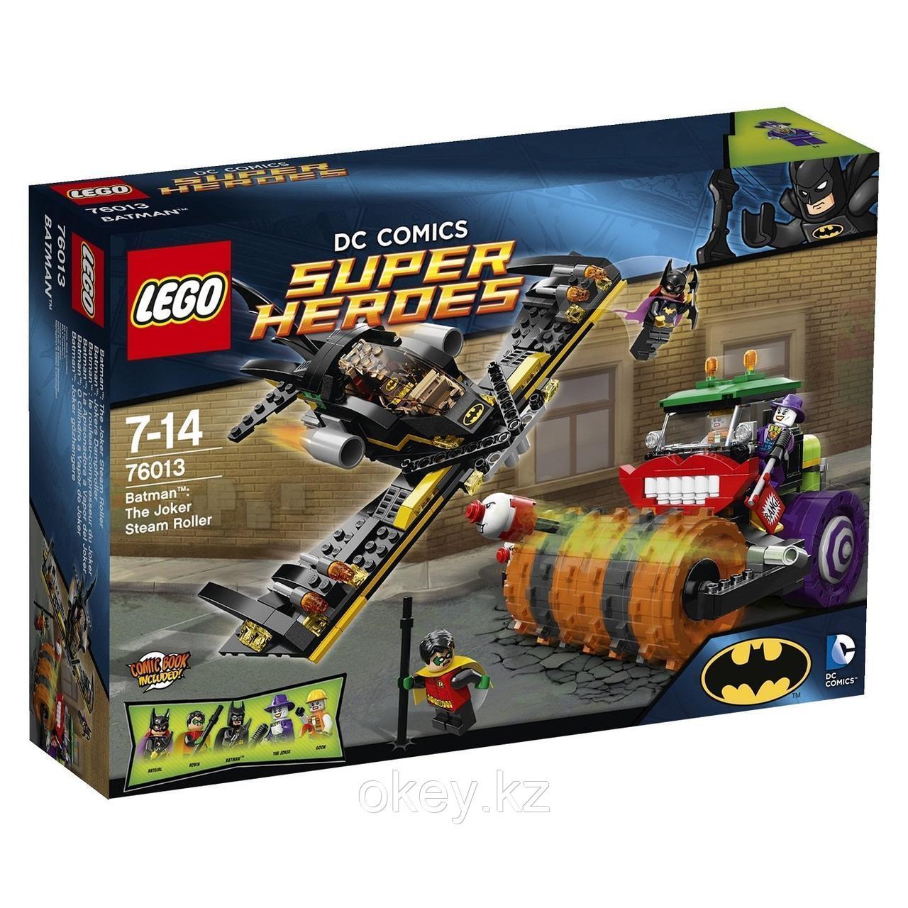 LEGO Super Heroes: Паровой каток Джокера 76013