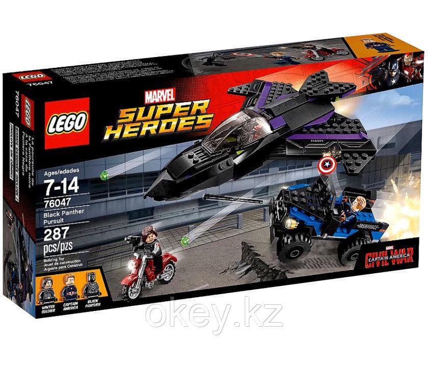 LEGO Super Heroes: Преследование Черной Пантеры 76047