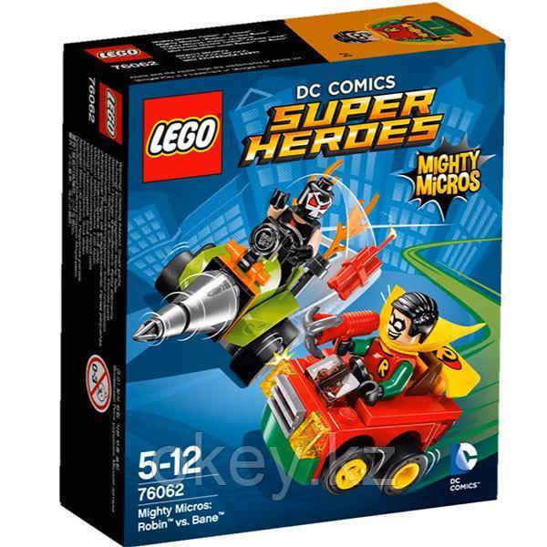LEGO Super Heroes: Робин против Бэйна 76062