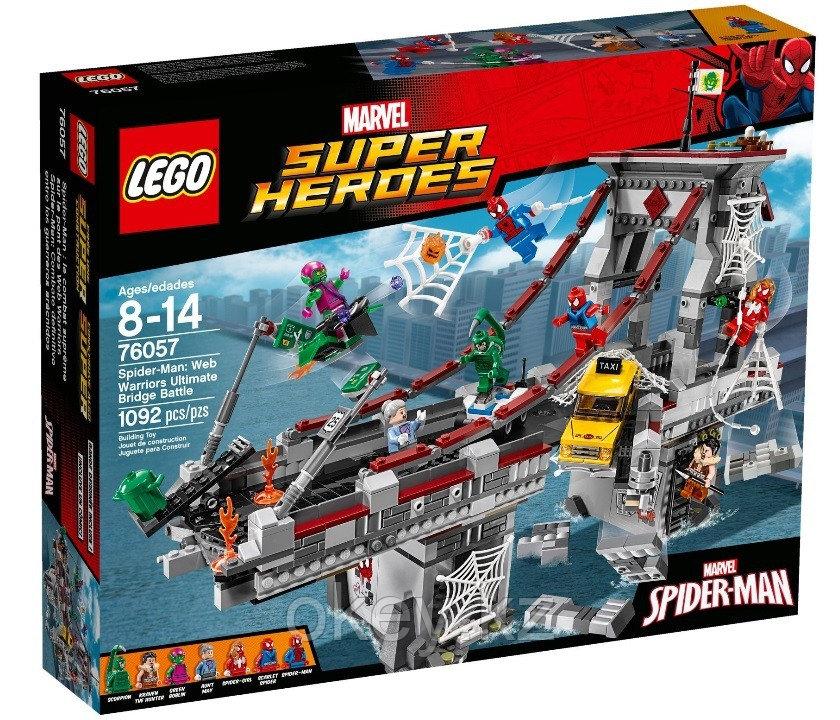 LEGO Super Heroes: Человек-паук последний бой воинов паутины 76057
