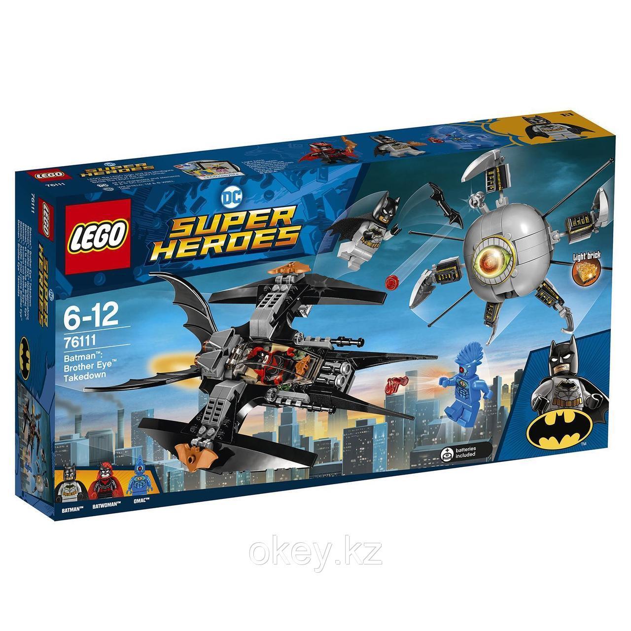 LEGO Super Heroes: Бэтмен: ликвидация Глаза брата 76111