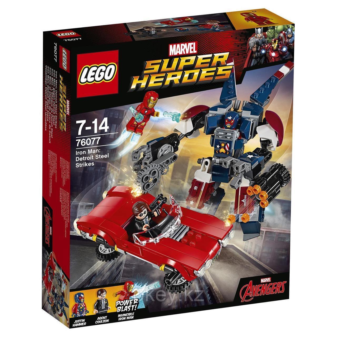 LEGO Super Heroes: Железный человек: Стальной Детройт наносит удар 76077