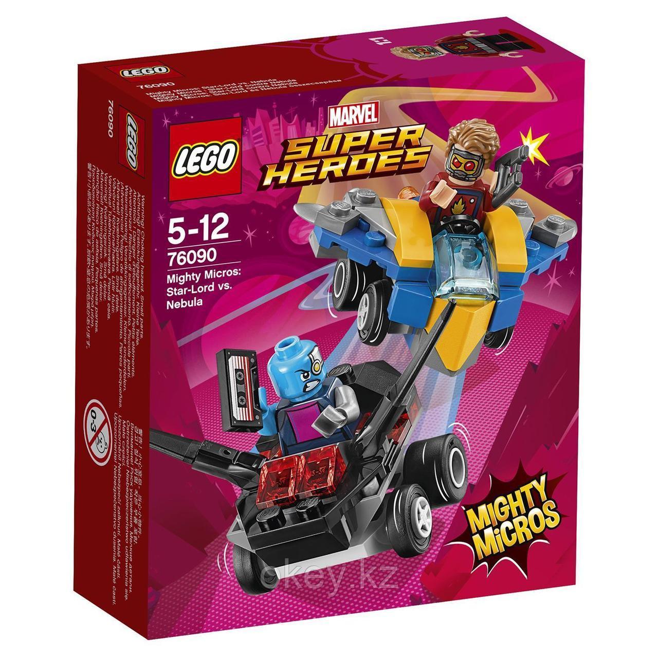 LEGO Super Heroes: Звёздный Лорд против Небулы 76090