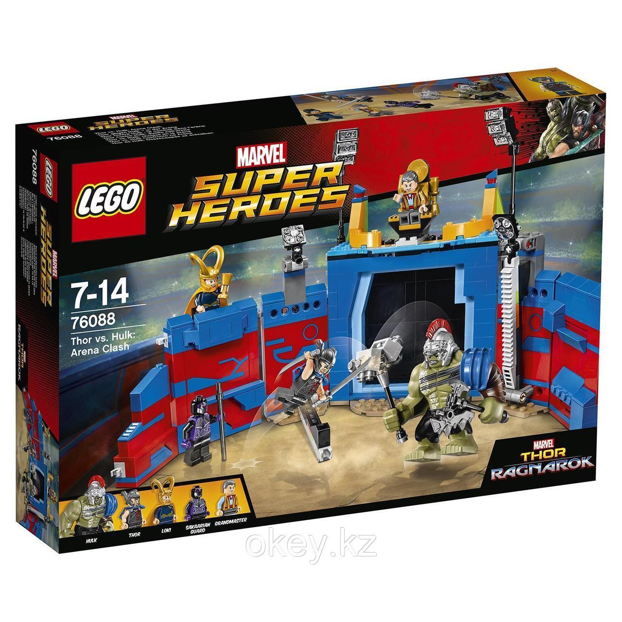 LEGO Super Heroes: Тор против Халка: Бой на арене 76088